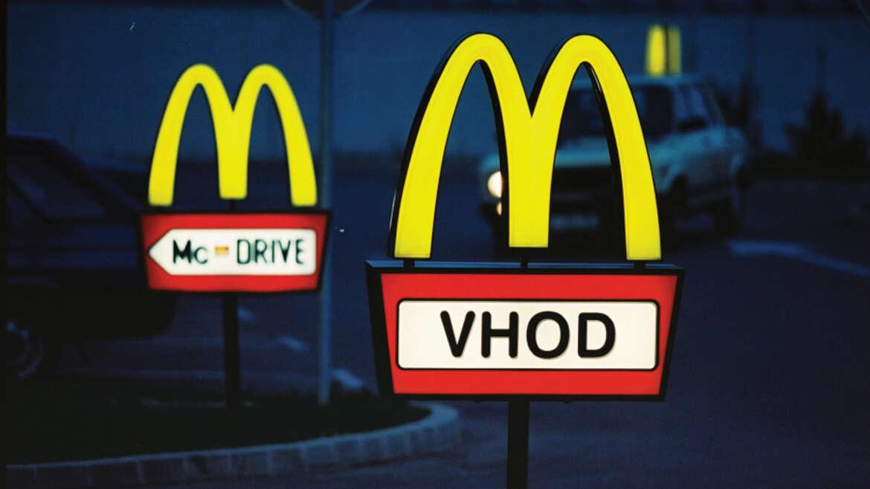 McDonalds – usmerjevalne table