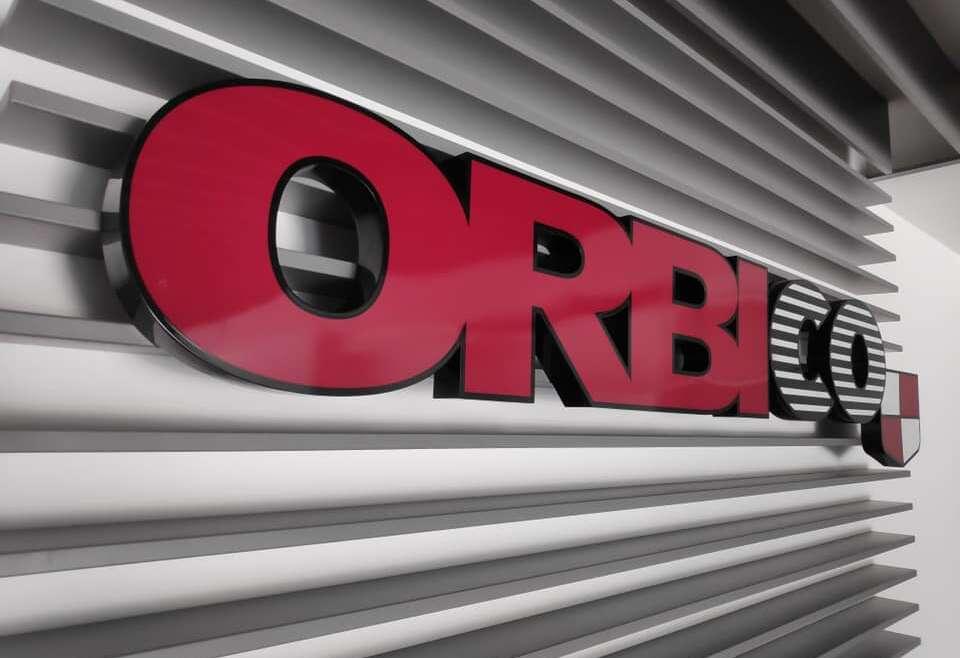Orbico – svetlobni napis