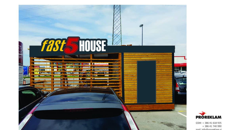 Fast 5 house – fotomontaža